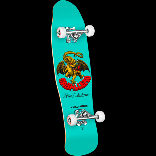 Powell Peralta Mini Caballero Dragon II 5 Complete Skateboard - 8 x 29.5