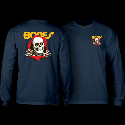 Powell Peralta Ripper L/S T-shirt - Navy
