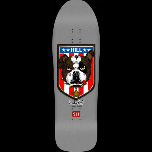"""Powell Peralta Skateboard Deck Frankie Hill Bulldog Green 10/"""" x 31.5/"""""""