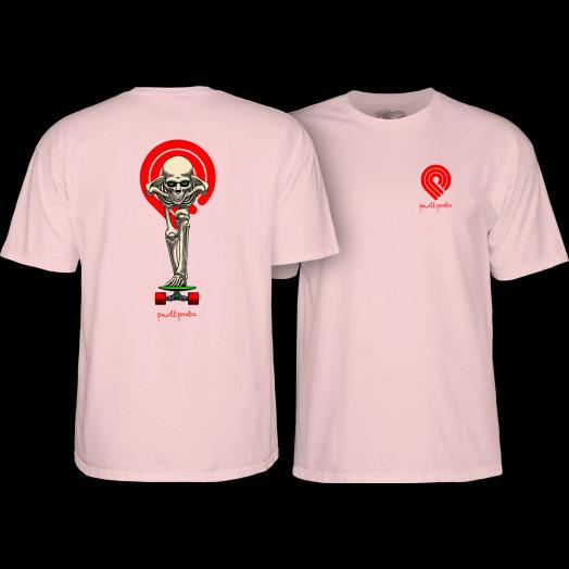 Powell Peralta Tucking Skeleton T-shirt Pink