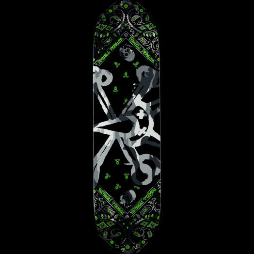 Powell Peralta Vato Rat Band Grey Skateboard Deck - 8.25 x 32.5