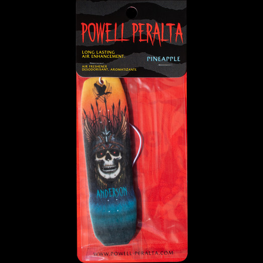 Powell Peralta Andy Anderson Air Freshener - Pineapple Scent
