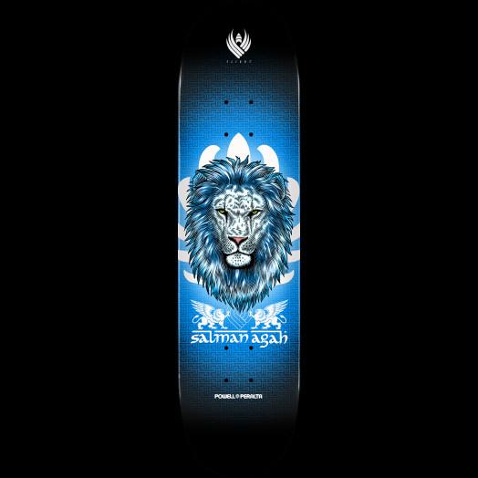 Powell Peralta Pro Salman Agah Lion 3 Flight® Skateboard Deck - Shape 245 - 8.75 x 32.95