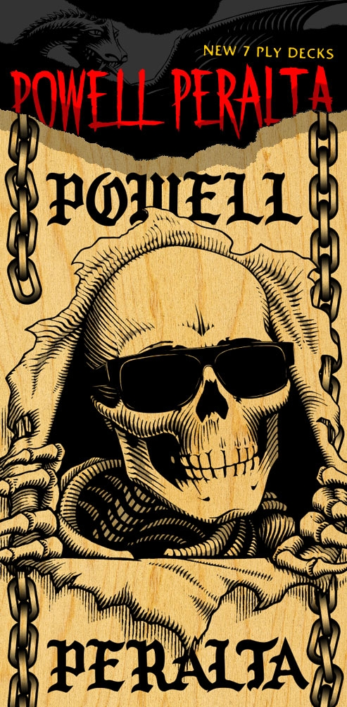New Powell Peralta 7 Ply Decks