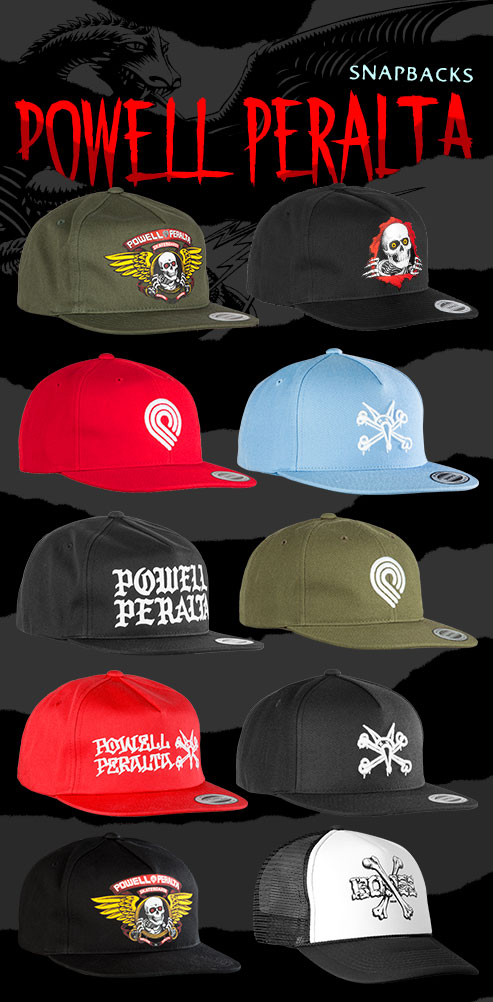 New Hats From Powell Peralta