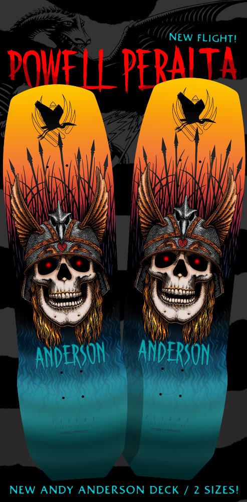 Powell Peralta Andy Anderson Decks